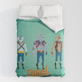 Biker Mice from Mars - Pixel Nostalgia Comforters