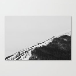 Appennino Lucano - Lines Canvas Print