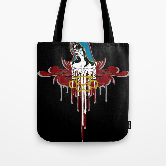 Day of the Dead Saint Tote Bag