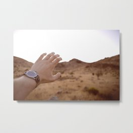 With in Reach Metal Print