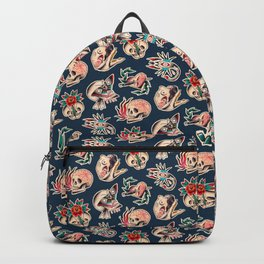 Trouble Blues Tattoo Backpack