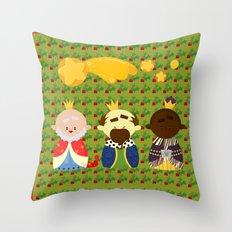 Three Kings (Reyes Magos) Throw Pillow