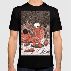 Death in Space Black MEDIUM Mens Fitted Tee