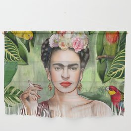 Frida con Amigos Wall Hanging
