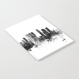 Rotterdam The Netherlands Skyline Notebook