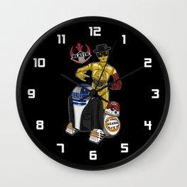 Beastie Droids Wall Clock