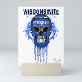 To The Core Collection: Wisconsin Mini Art Print