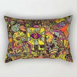 Cosmic Dream Rectangular Pillow