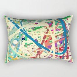 An Homage to Pollock Rectangular Pillow