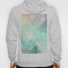 Colorful Marble Pattern Hoody