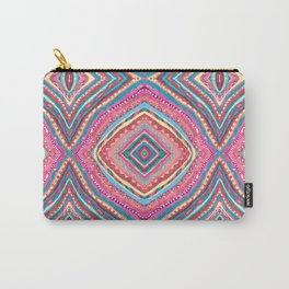 Bright Gypsy Bohemian Abstract Pattern Carry-All Pouch