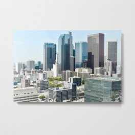LA Skyscrapers Metal Print