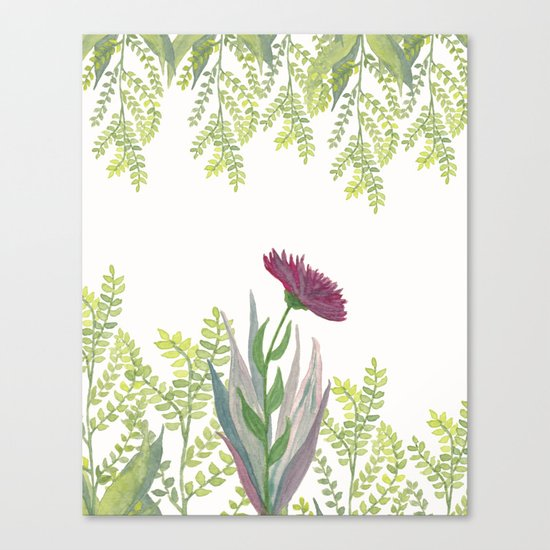 Botanical vibes 08 Canvas Print