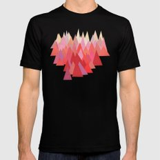 Indian Summer Black Mens Fitted Tee SMALL