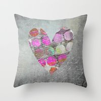 passion Throw Pillows featuring Passion    by LebensART