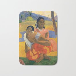 Affordable Art $300,000,000 When Will You Marry by Paul Gauguin Bath Mat
