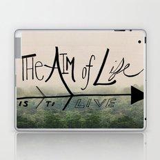 The Aim of Life Laptop & iPad Skin