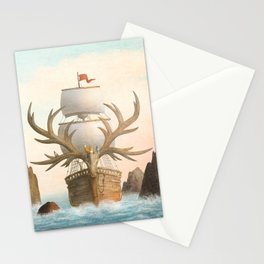 The Antlered Ship_Cover Stationery Cards