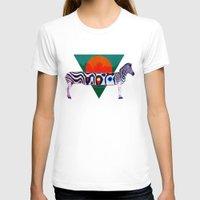 zebra T-shirts featuring Zebra by Ali GULEC