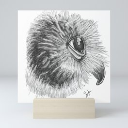 Spectacled owl Mini Art Print