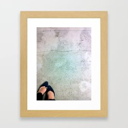 Velvet and Chains Framed Art Print
