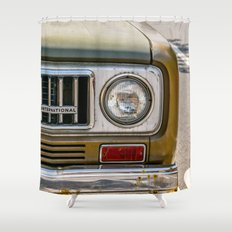 Vintage International Shower Curtain