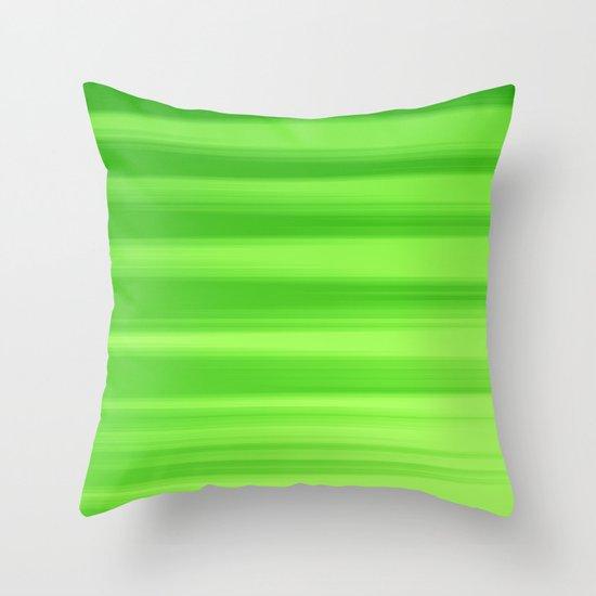 Green Goddess. Throw Pillow