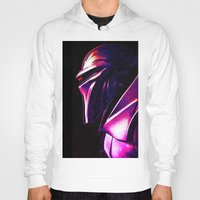 "battlestar Hoodies featuring ""Some Kinda' Crazy, Frakked Up Cylon Signal..."" by Cullen Rawlins"