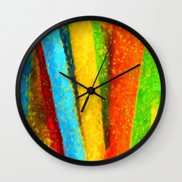 Don't be afraid to explore the vertical Wall Clock