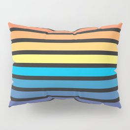 Stripe Sunset Pillow Sham