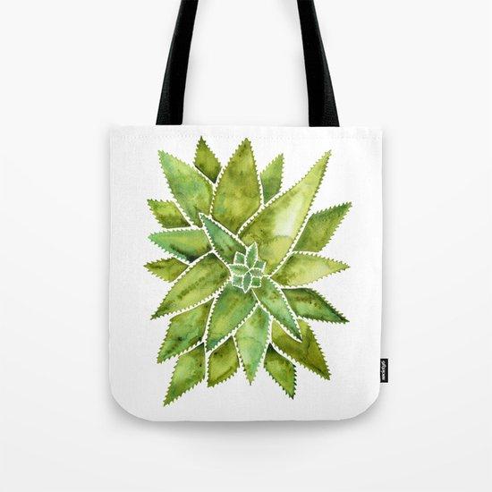 Aloe Vera – Green Palette Tote Bag