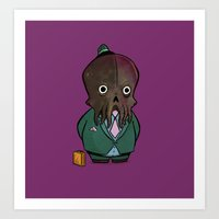 Business Cthulhu Art Print