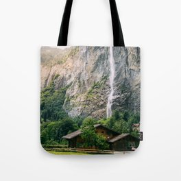 Lauterbrunnen Waterfall Tote Bag