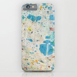 Marble paper iPhone Case