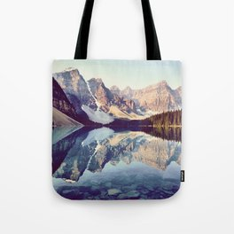 Moraine Lake Reflection Tote Bag