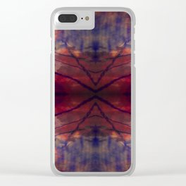 Escape geometry IV Clear iPhone Case