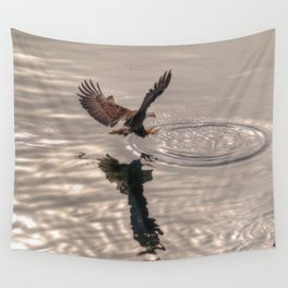 Hunting Eagle Wall Tapestry