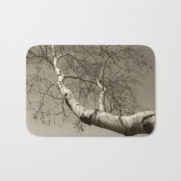 Birch tree #01 Bath Mat