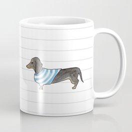 Doxie Life - Watercolor Dachshund Coffee Mug