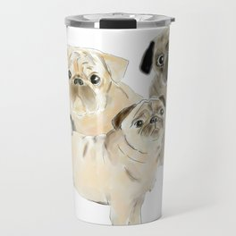 Pug Dogs Pugs Travel Mug
