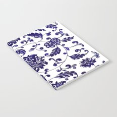Chinese Floral Pattern Notebook
