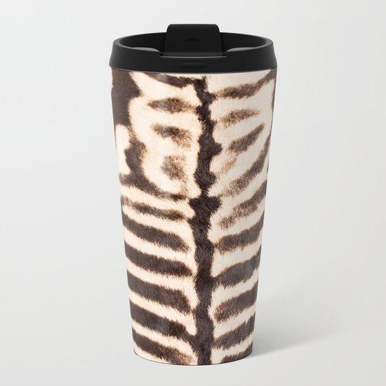 Zebra - stripes - classic - #society6 #buyart Metal Travel Mug