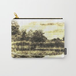 Lily Pond Vintage Carry-All Pouch