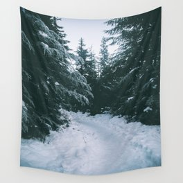 Winter Trails Wall Tapestry