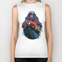merida Biker Tanks featuring Merida by Karrashi