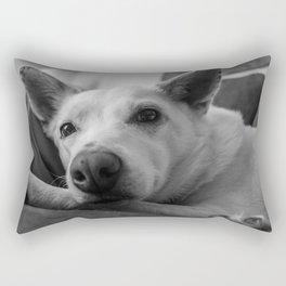 Lake the Australian Cattle Dog Rectangular Pillow