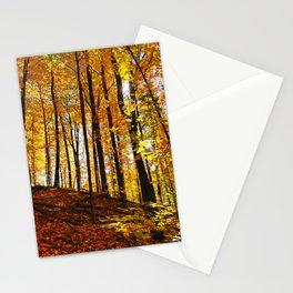 Sunny Autumn Hillside Stationery Cards