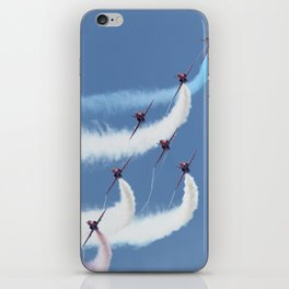 Red Arrows - Formation Magic iPhone Skin
