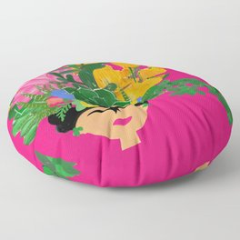 Keep Blooming Friducha Floor Pillow