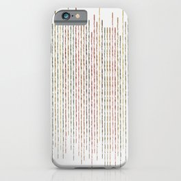 Autumnal Thin Lines iPhone Case